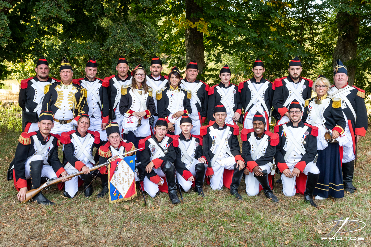 Groupe des grenadiers 2018