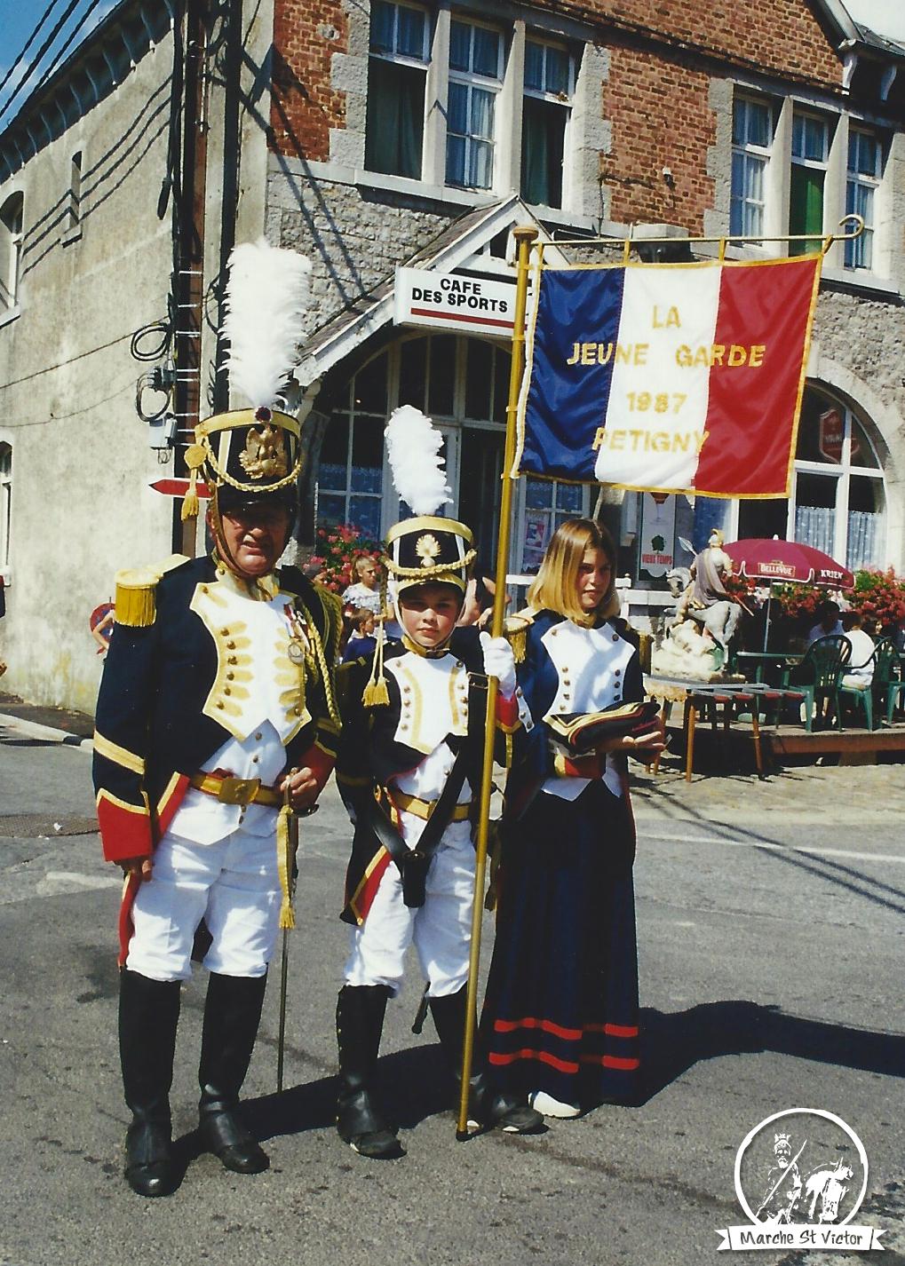 Jeune-Garde en 1987